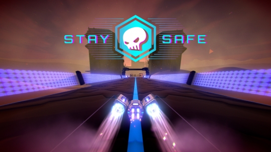 Stay Safe Atomic Raccoon Studio