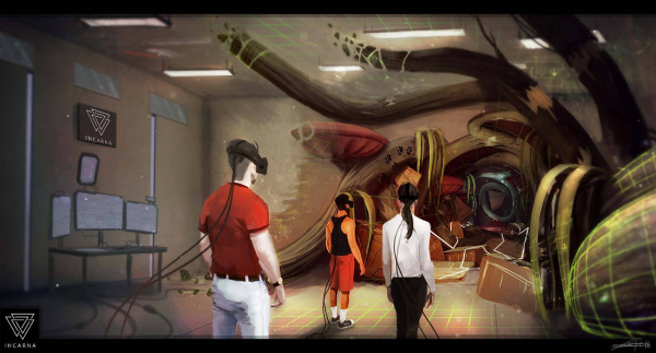 incarna espace game réalité virtuelle