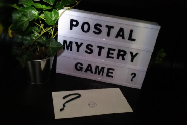 postal mystery game