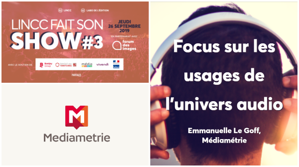 médiamétrie focus sur les usages de l'audio
